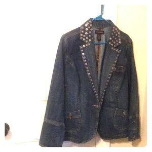 Ashley Stewart denim jacket
